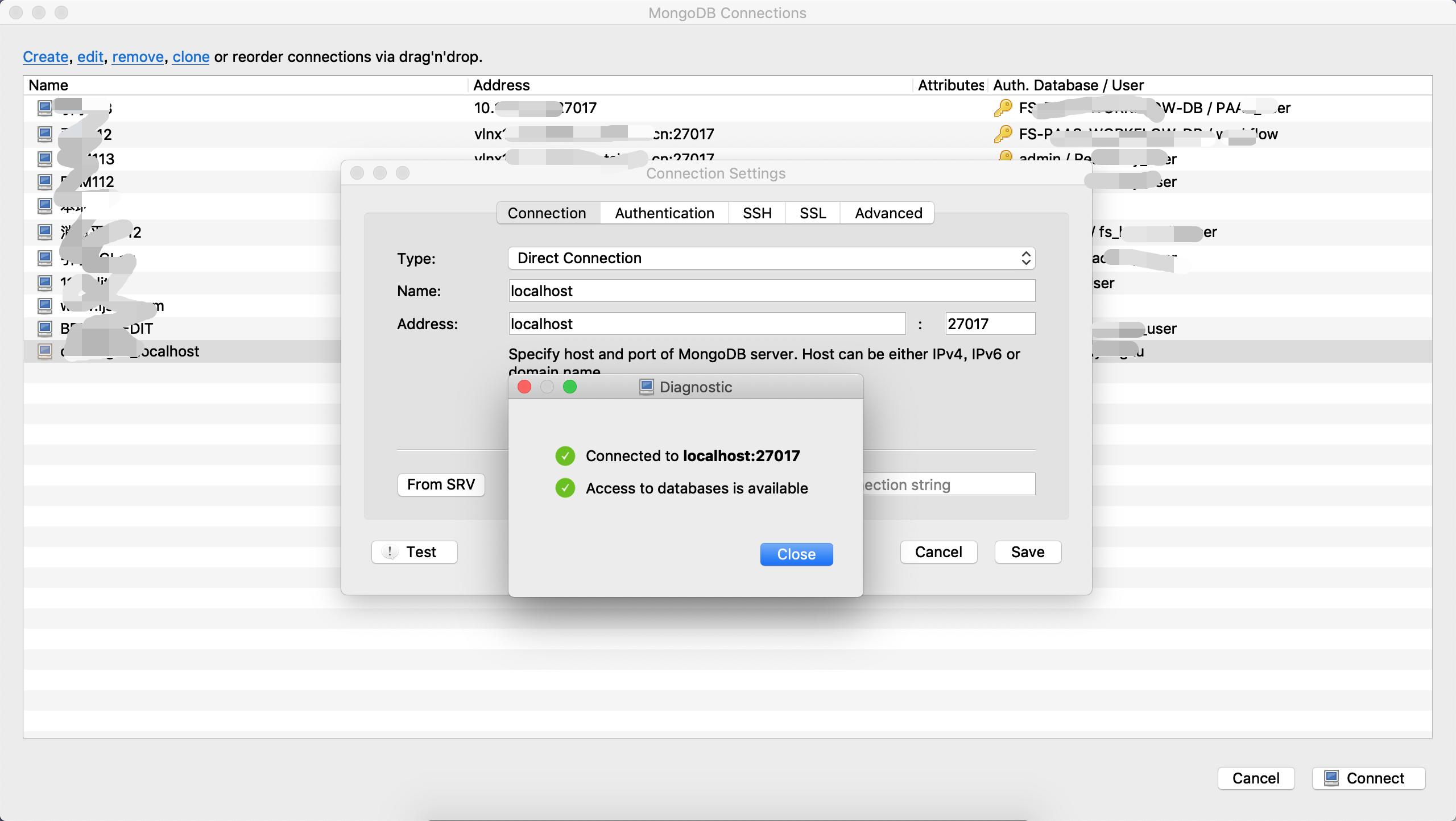 Mac OSX 平台安装 MongoDB